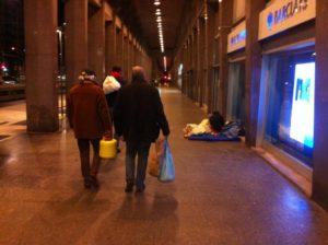 Unità di strada per soccorso senza fissa dimora