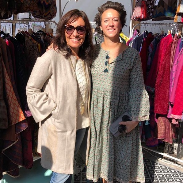 💥 HAPPY CLIENTS,  NEW FRIENDS💥 @diegiselasalzburg form Austria to Milan to shopping @dressmorewithless new collection. Very glad you like my creations! 🙏 #happycostumer  #happyclient  #dressmorwithless  #chiostroinfiera